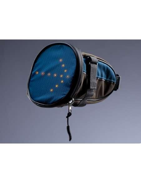 Bolsa transporte sillín con indicadores led