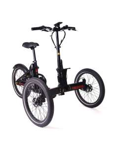 Etnnic Folding Trike 2.0 triciclo eléctrico plegable