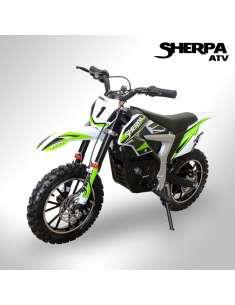 Moto eléctrica niño Sherpa Racing M1 800W