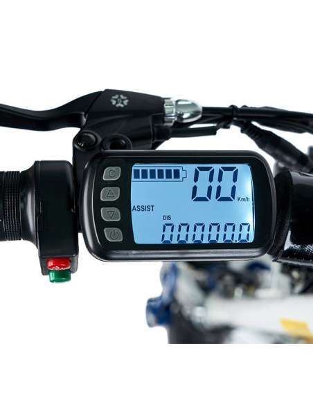 Patinete-Scooter eléctrico Ecoxtrem Sparrow 1600W/2000W negro